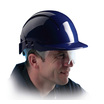 Centurion Concept Vented Full Peak Safety Helmet with Retractable Eyeshield - Blue