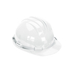 Keep Safe Standard Full Peak Safety Helmet - White