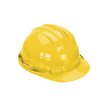 Keep Safe Standard Full Peak Safety Helmet - Yellow