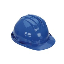 Keep Safe Standard Full Peak Safety Helmet - Blue