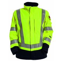 Tranemo Tera TX Flame Retardant Women's Yellow/Navy Jacket