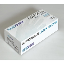 KeepCLEAN Disposable Latex Powdered Gloves
