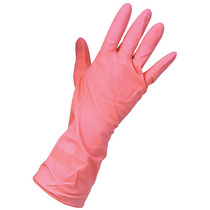 KeepCLEAN Rubber Pink Household Gloves