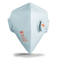 uvex Silv-Air 3210 FFP 2 Valved Folding Respirator