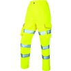 Leo Pennymoor Women's High-Visibility Combat Trousers - Regular- Saturn Yellow