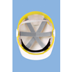 Centurion Reflex Mid Peak Safety Helmet - Yellow