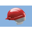 Centurion Reflex Mid Peak Safety Helmet - Red