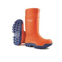 Dunlop Purofort Thermo Plus Professional Full Safety Wellington Boot With Midsole