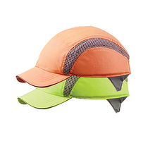 Centurion Standard Peak Hi Visibility Airpro Baseball Bump Cap - Orange