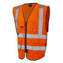 EN 471 High Visibility Superior Safety Waistcoat