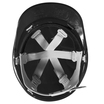 Keep Safe Pro Comfort Plus Full Peak Safety Helmet - Black