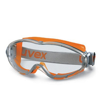 uvex Ultrasonic Orange/Grey Safety Goggles K&N Rated