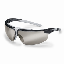 uvex i-3 Safety Spectacles Silver Mirror Lens.