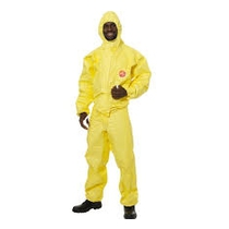Dupont Tychem C Standard Hooded Coverall